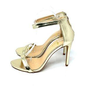 Lulu's Gold Sandals